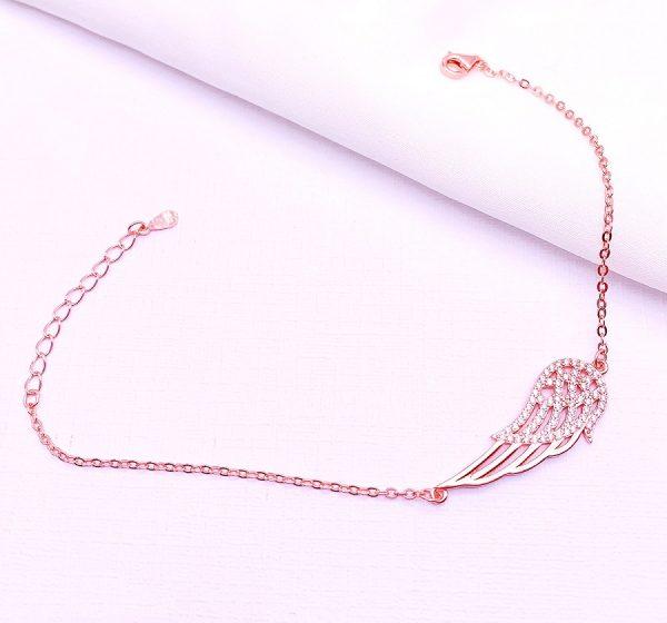 Sterling Silver Wing Bracelet