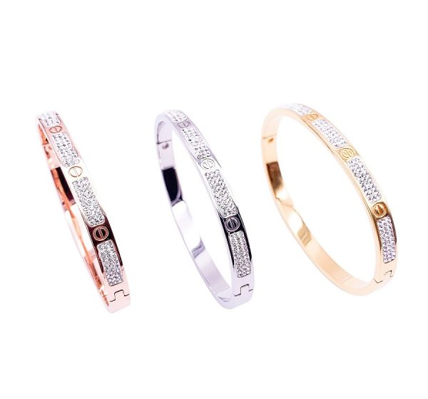 parkle and Stone Set Bracelet
