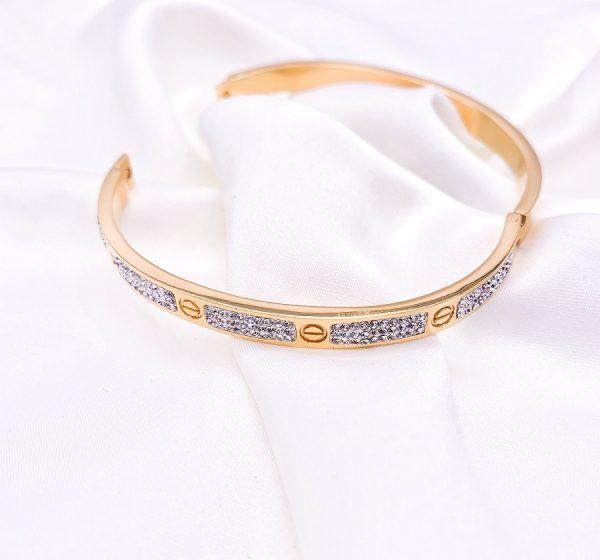 sparkle and Stone Set Bracelet