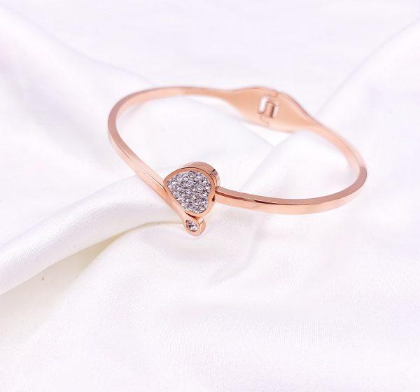 Heart Wrap Bracelet
