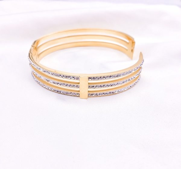 Crystal Three Lines Bracelet