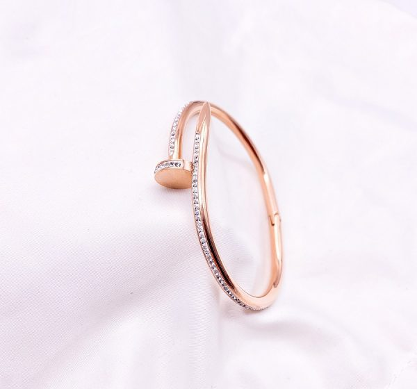 Sparkly Nail Bracelet