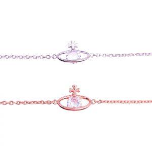 Sterling Silver Plant Bracelet